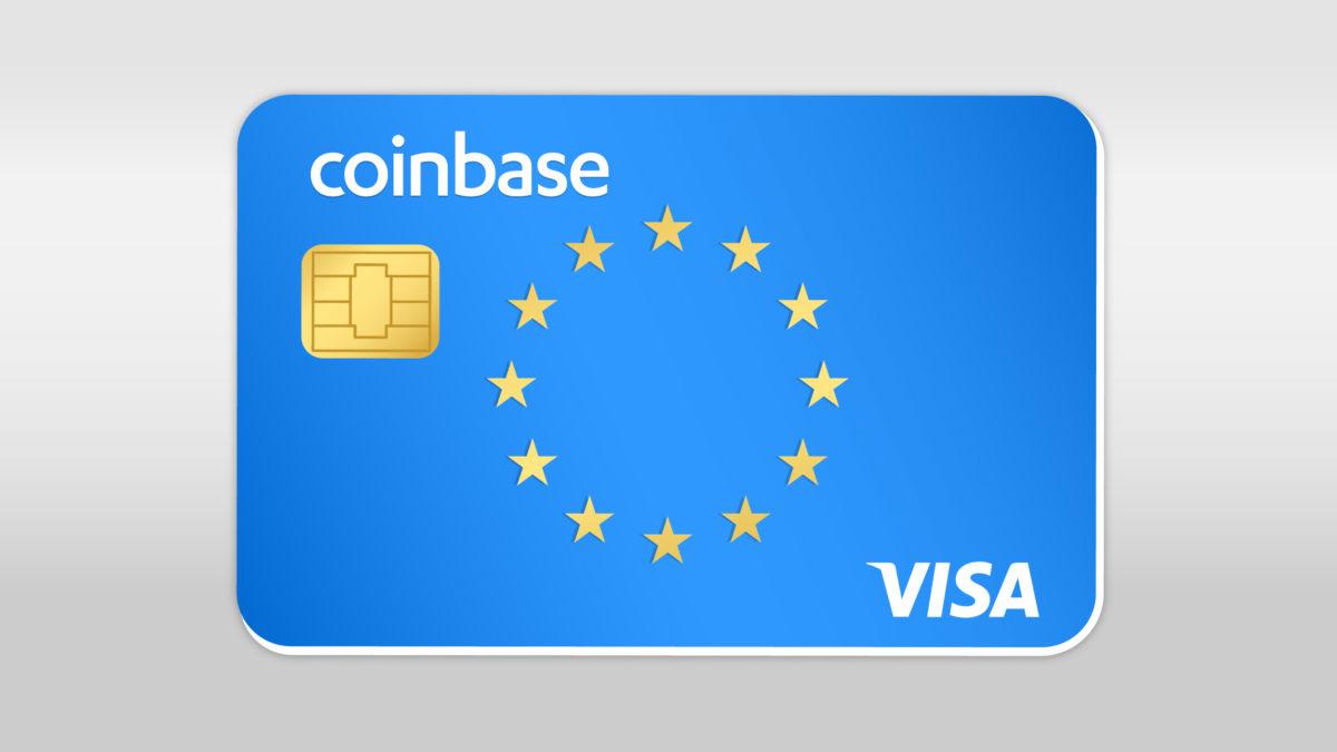 Coinbase карты в ЕС