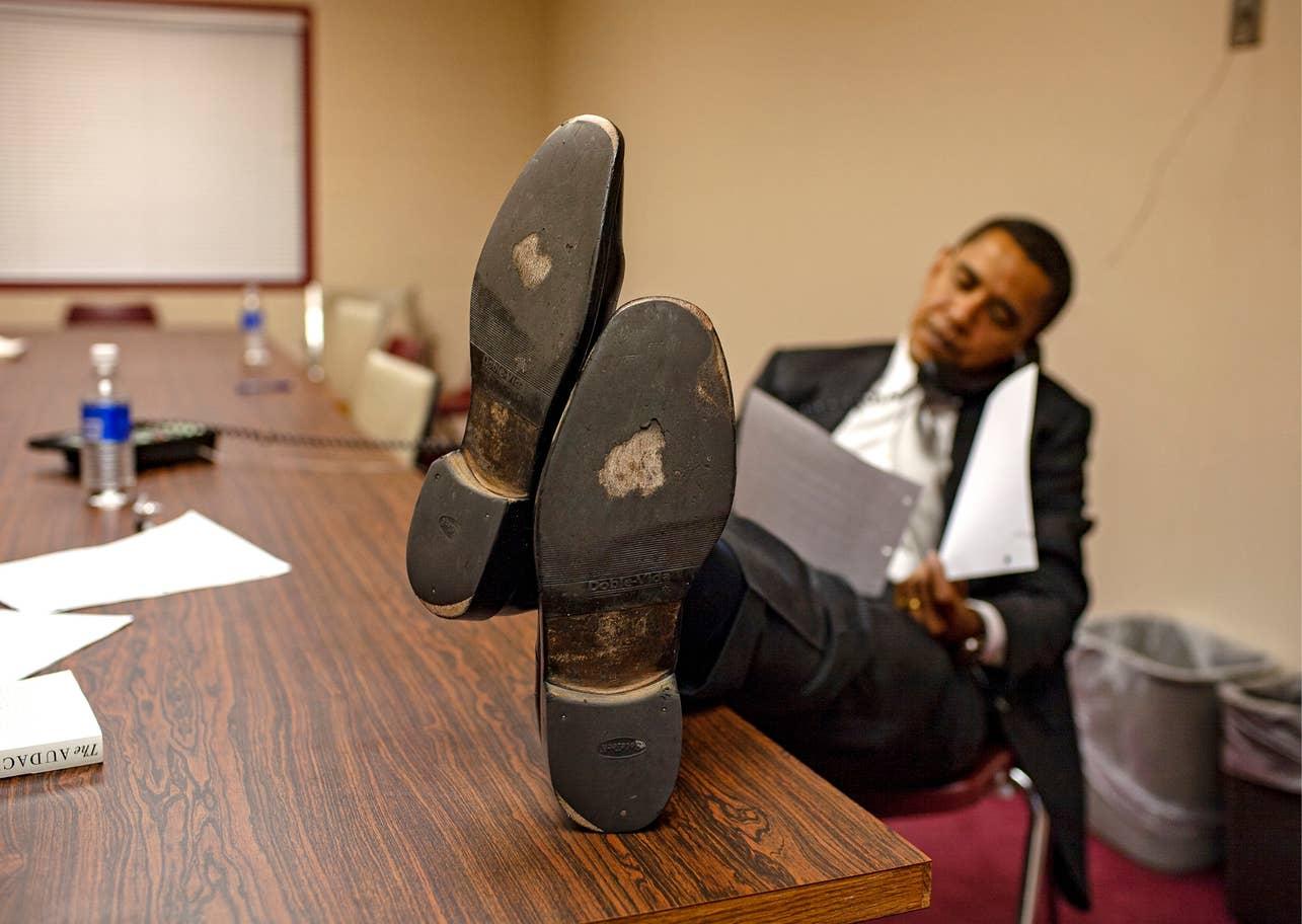 """""""Везучі туфлі"""" американського президента"""
